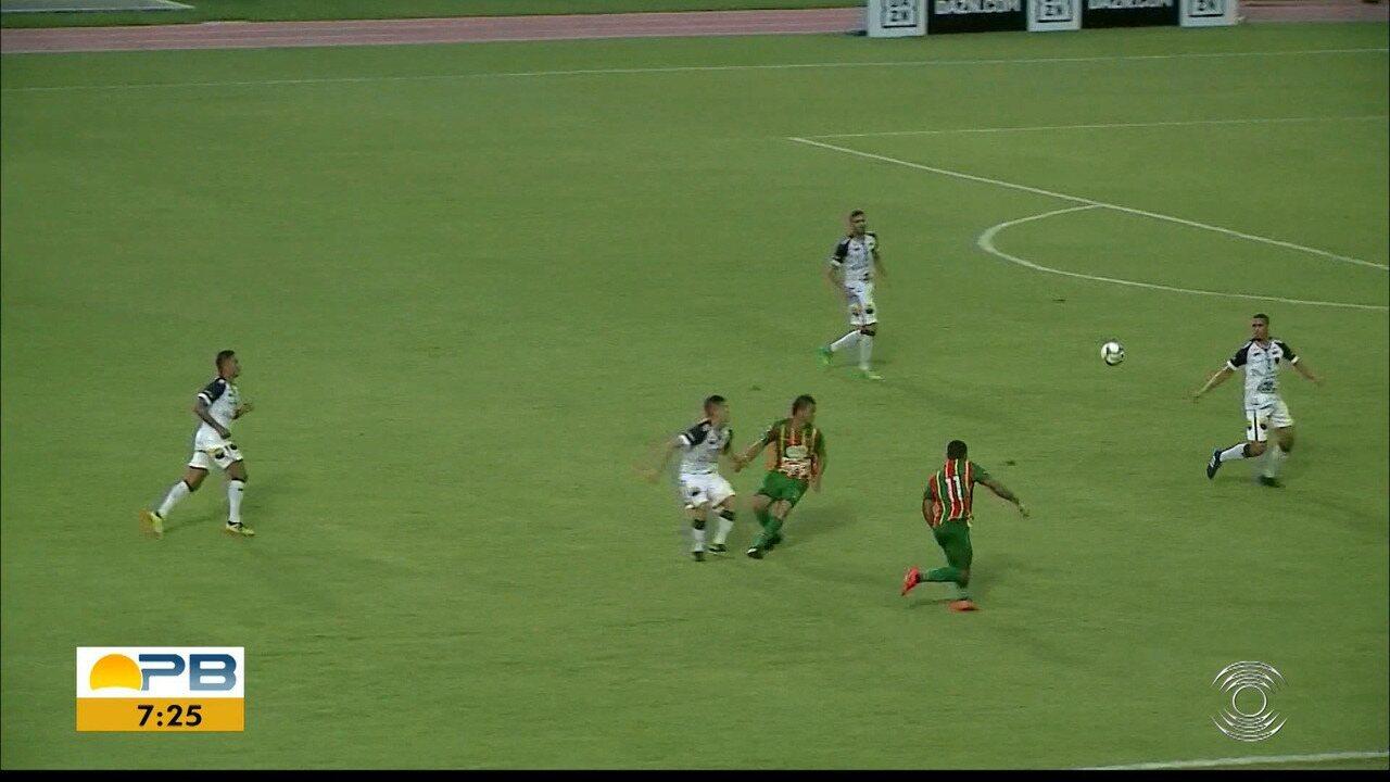 Confira os gols do empate entre Sampaio Corrêa e Botafogo-PB