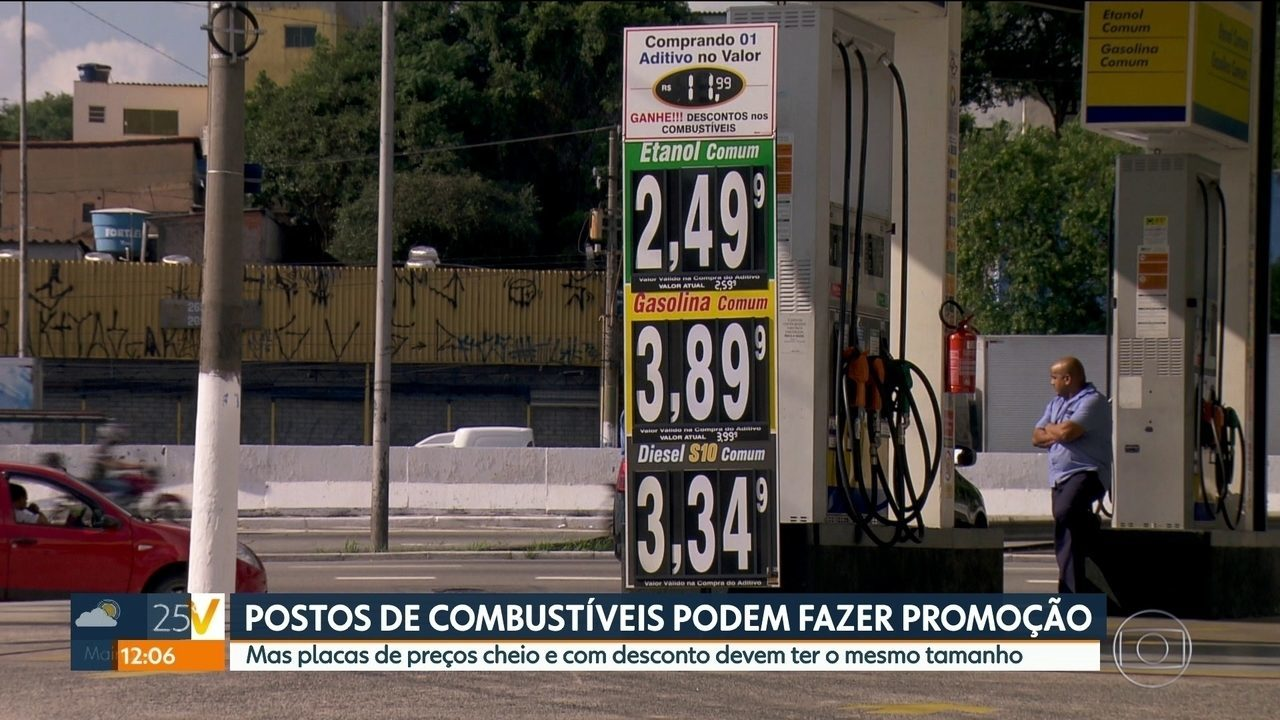 Postos de Combustíveis fazem promoções irregulares