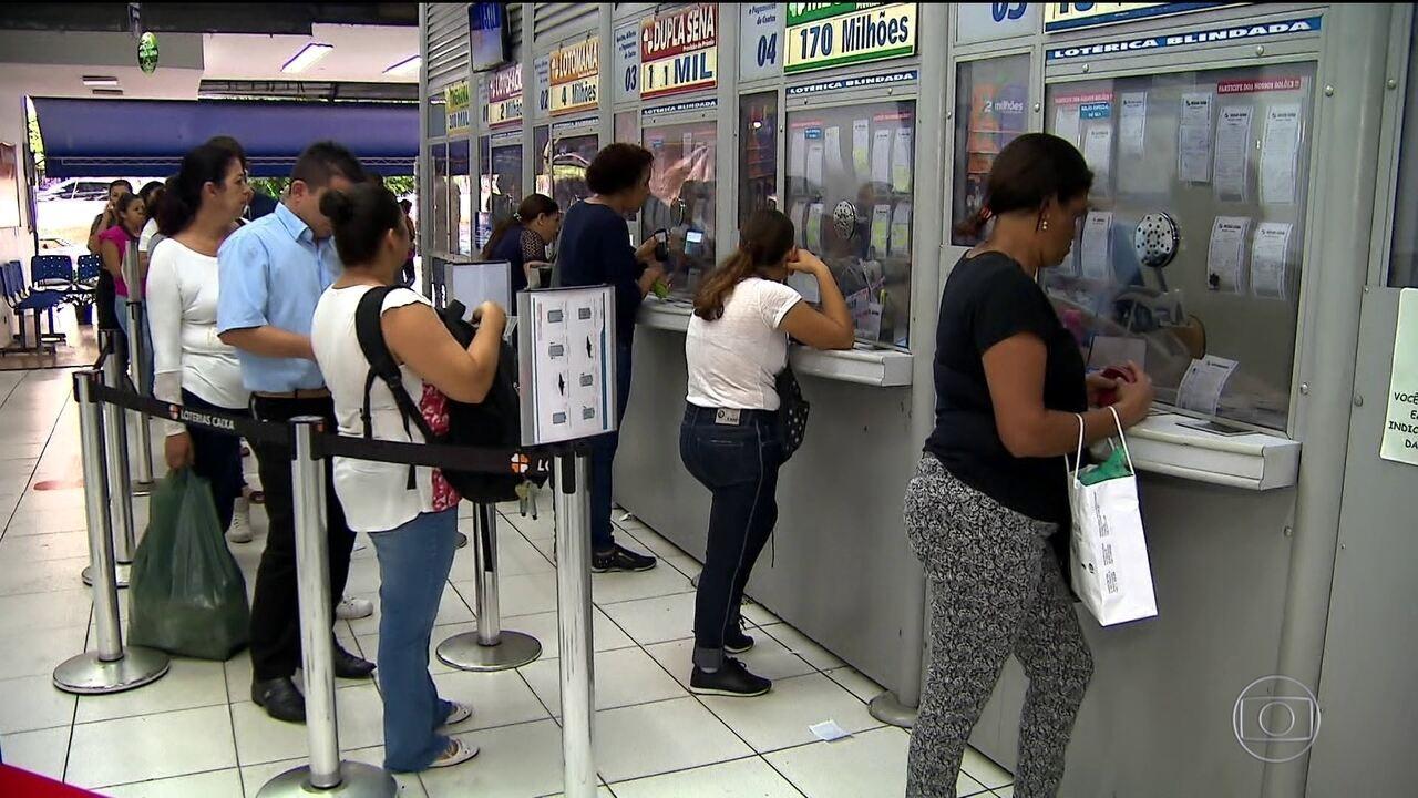 Mega-Sena pode pagar R$ 170 milhões nesta quarta-feira (8)