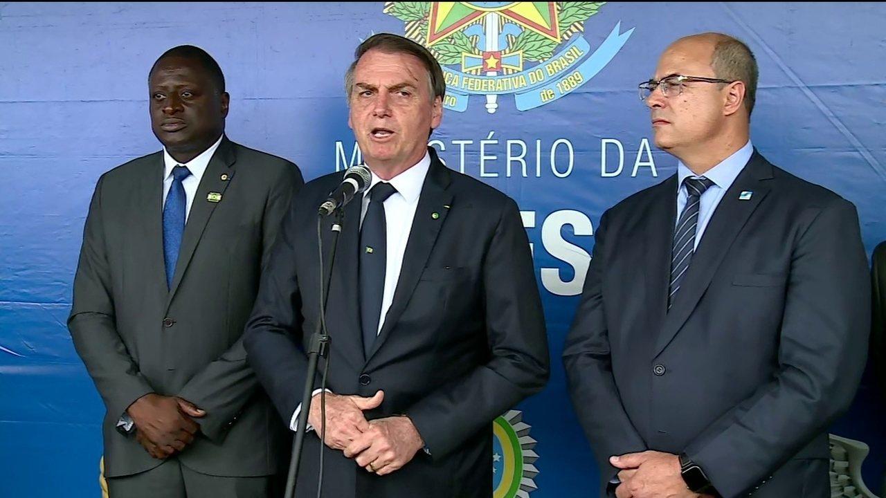 Bolsonaro diz querer fazer de Angra dos Reis, no RJ, uma 'nova Cancún'