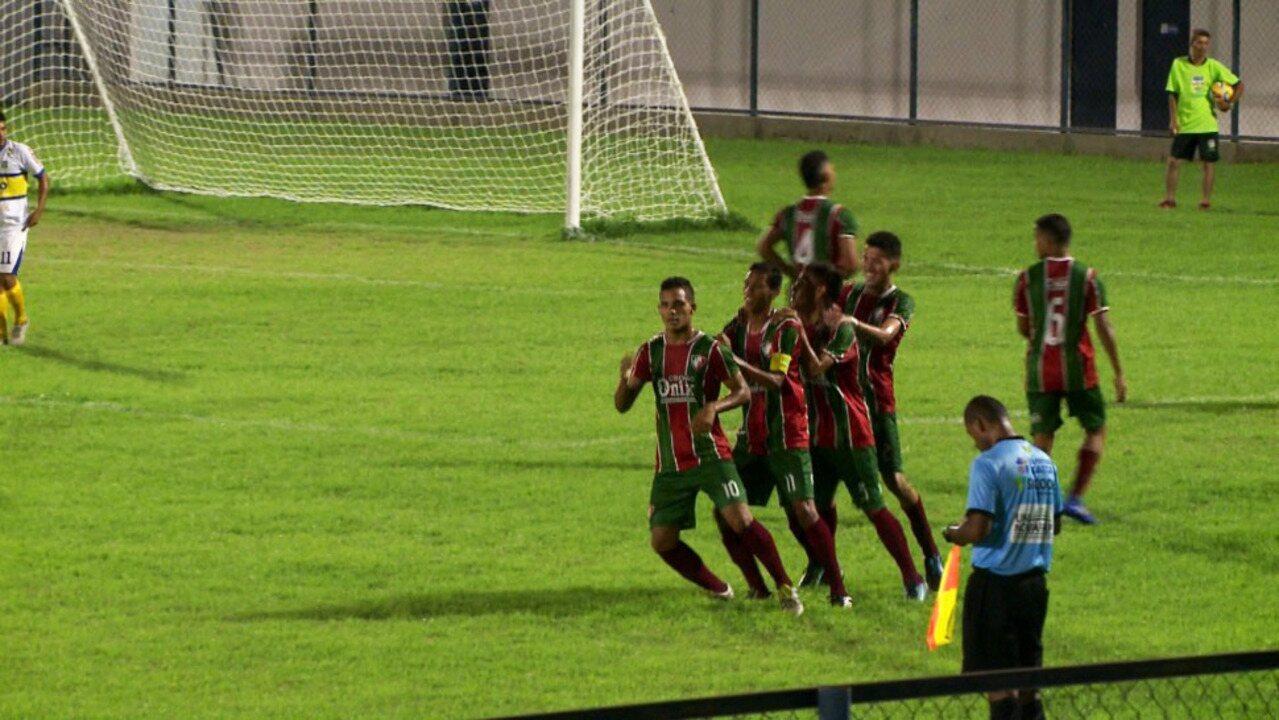 Os gols de Fluminense-PI 3 x1 Krac pelas quartas de final do Piauiense sub-19