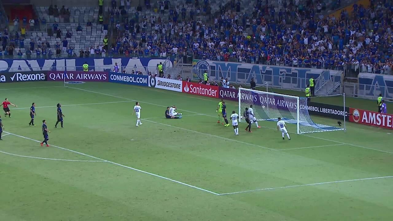 Melhores momentos de Cruzeiro 1 x 2 Emelec pela Copa Libertadores