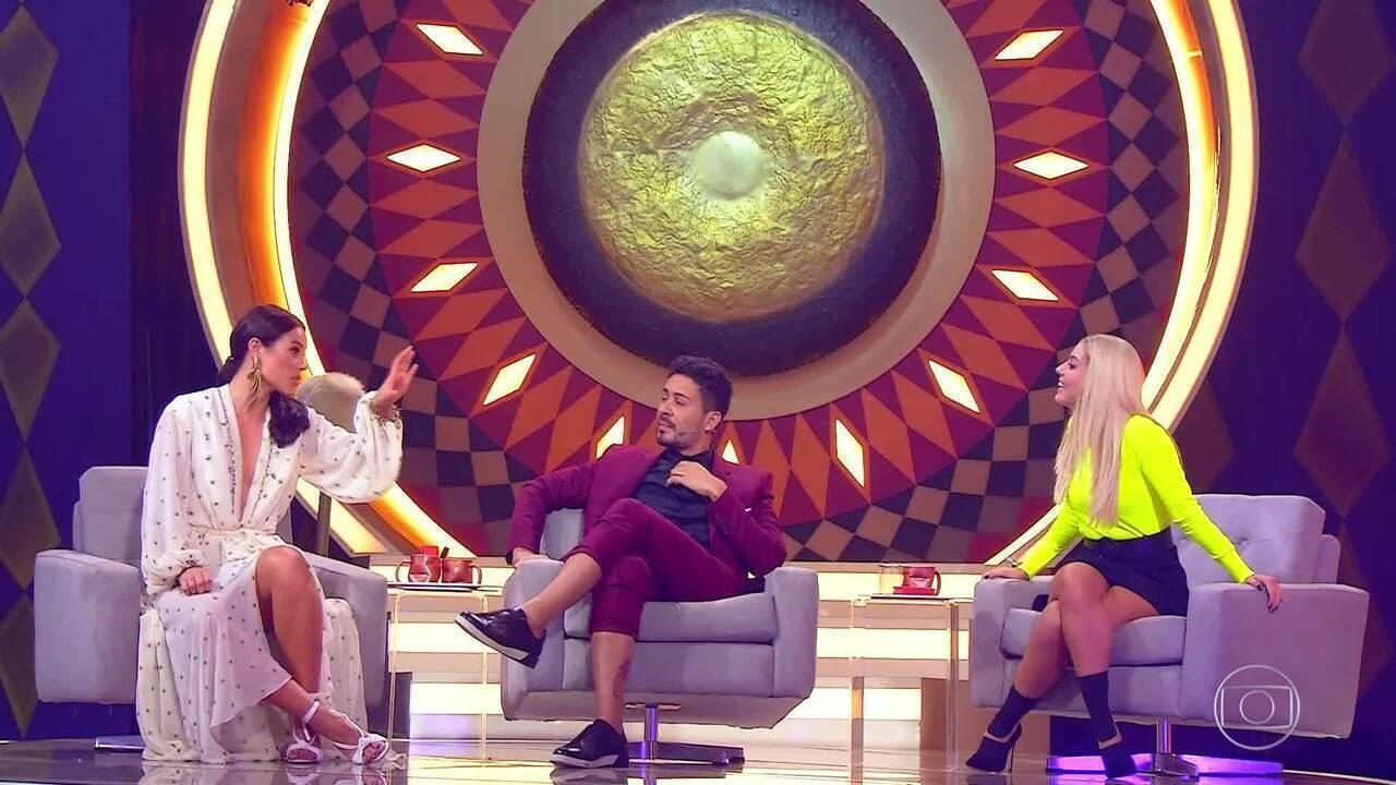 Giovanna Lancellotti e Paolla Oliveira participam do 'Gonga La Gonga' com novos visuais
