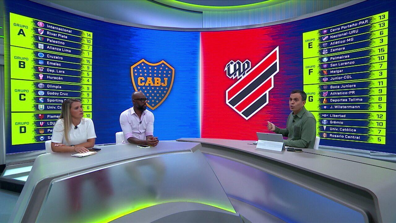 Comentaristas analisam vitória do Boca Juniors sobre o Atlético-PR e criticam a arbitragem
