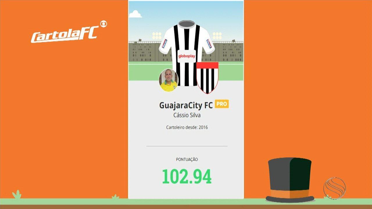 Cássio Silva lidera terceira rodada na Liga do GE Sergipe e passa dicas de como mitar