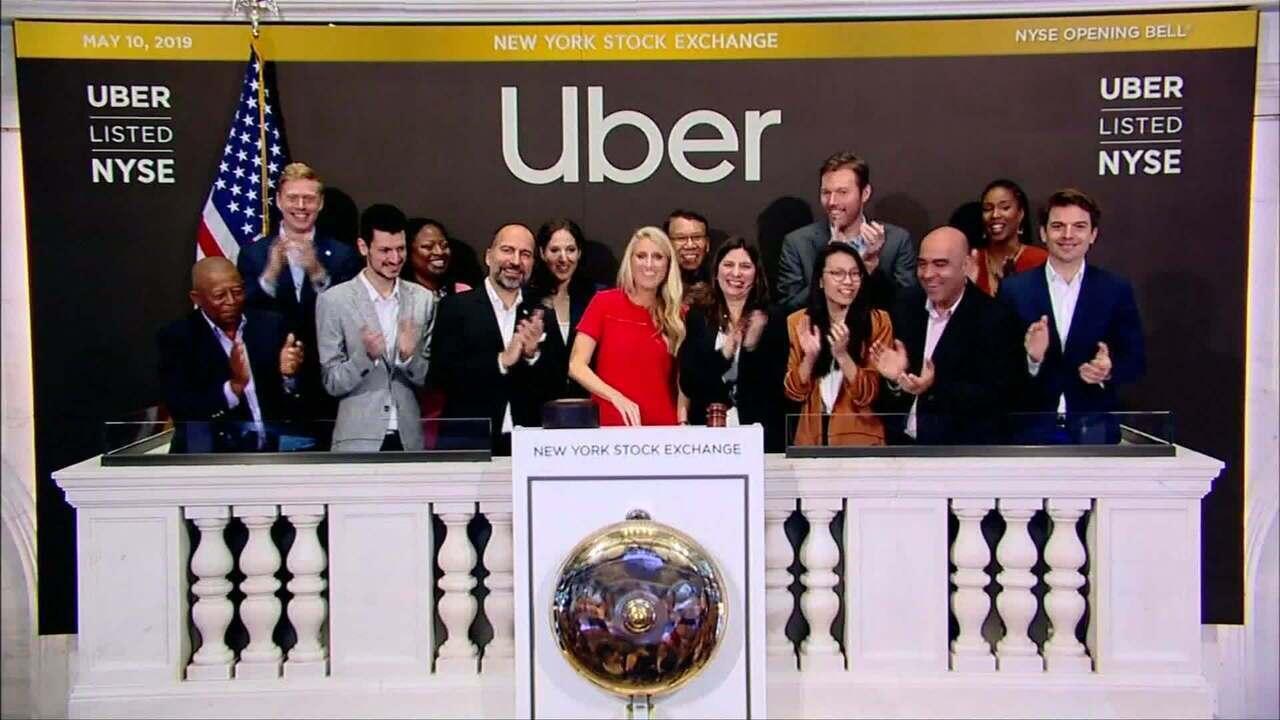 Uber estreia na bolsa de valores de Nova York