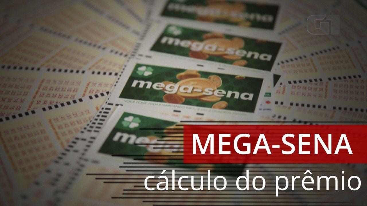 Saiba como é calculado o prêmio da Mega-Sena