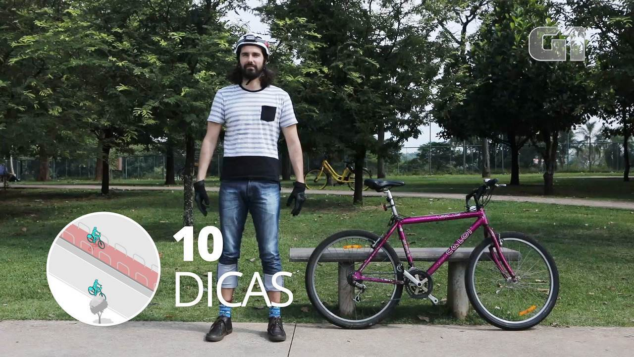Bicicletas: veja 10 dicas para andar com segurança