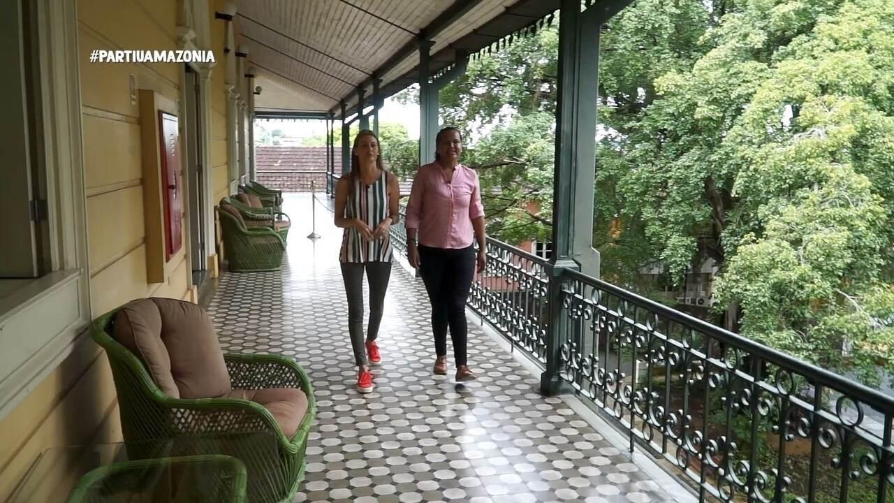 Parte 1: Júlia visita o Palácio Rio Negro