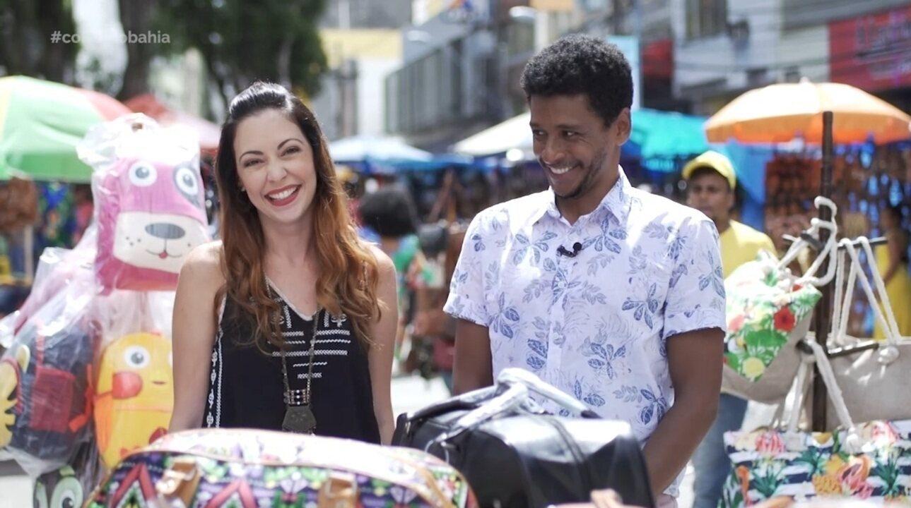 Briza Menezes e Aldri Anunciação encerram o programa