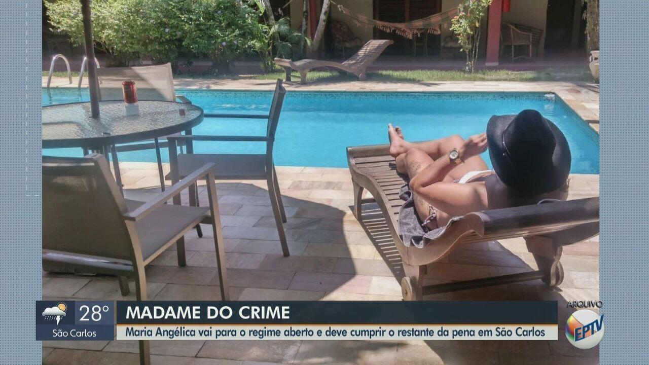 'Madame do crime' vai para o regime aberto e deve cumprir restante da pena em São Carlos