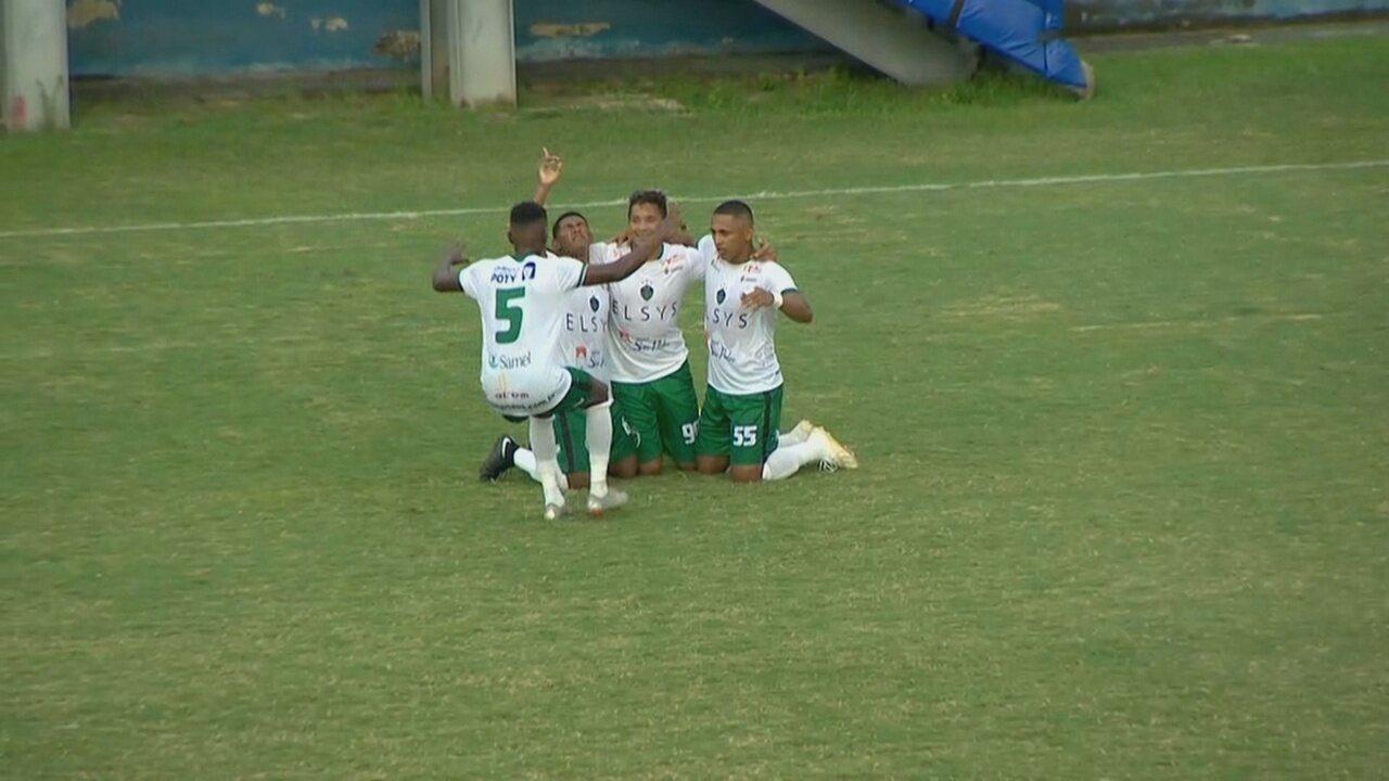 Veja os gols de Manaus 5 x 2 Galvez