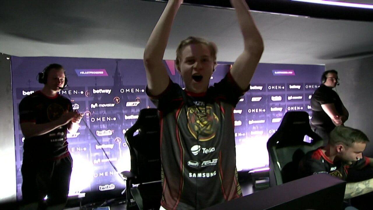 CS:GO: ENCE acaba com invencibilidade de 31 jogos da Astralis na Nuke e levanta troféu da BLAST Pro Series Madri