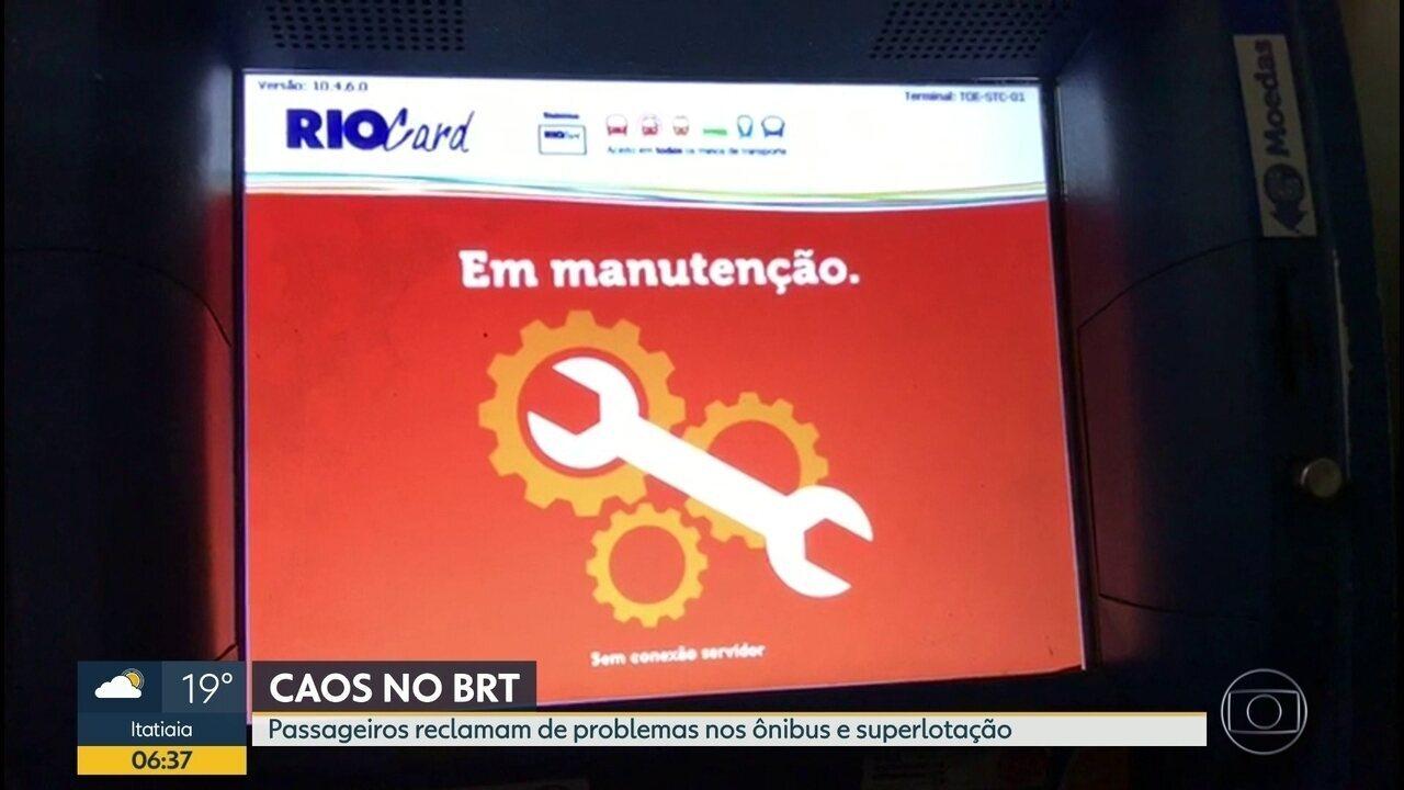 Interventor do BRT admite cartel no controle do serviço que mantém 22 estações fechadas