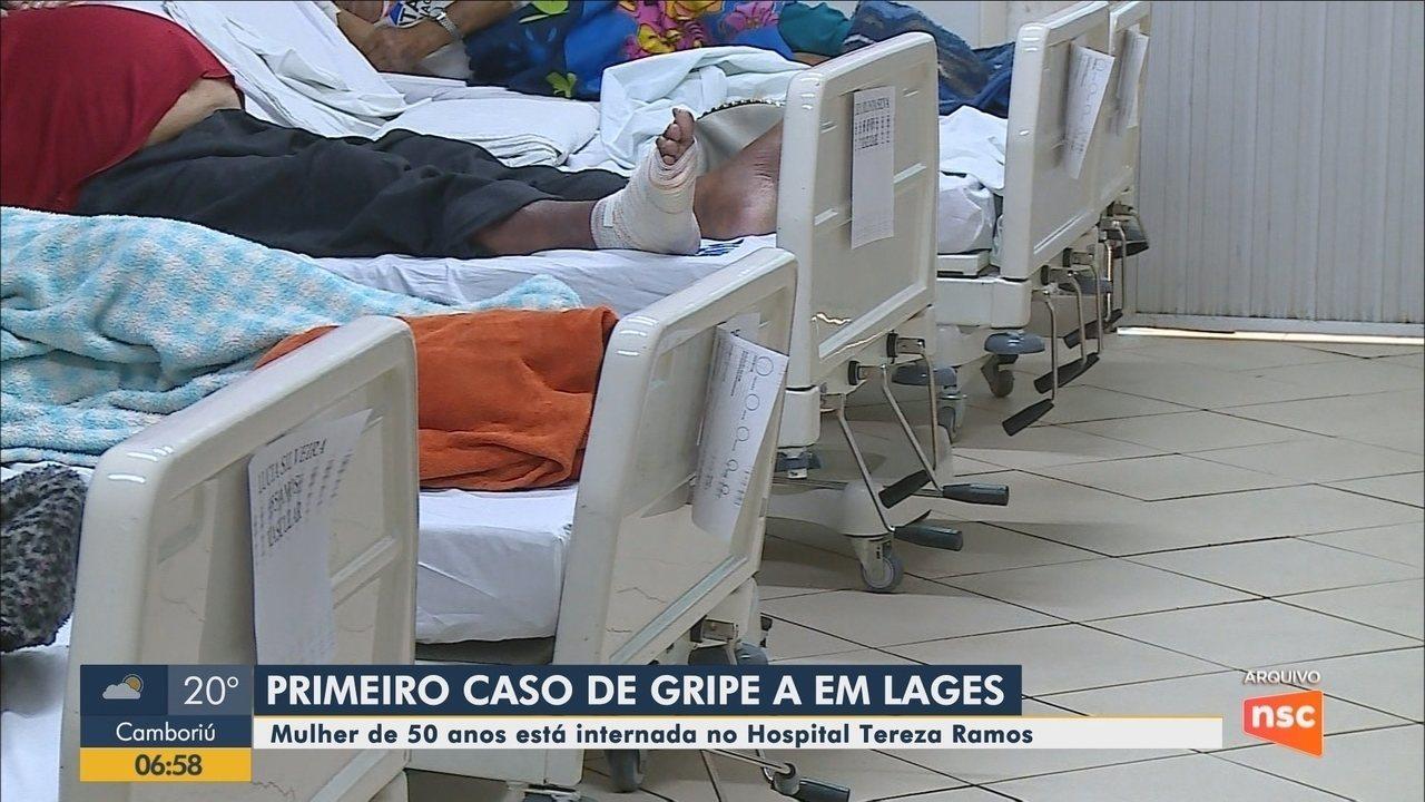 Primeiro caso de gripe H1N1 é confirmado em Lages