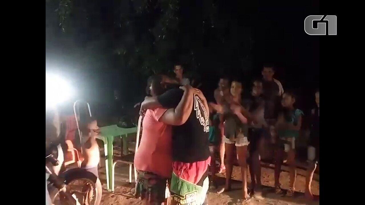 Após 21 anos, mãe reencontra filho em Aliança, na Zona da Mata de Pernambuco