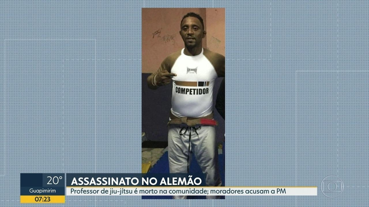 Professor de jiu-jitsu é assassinado no Alemão
