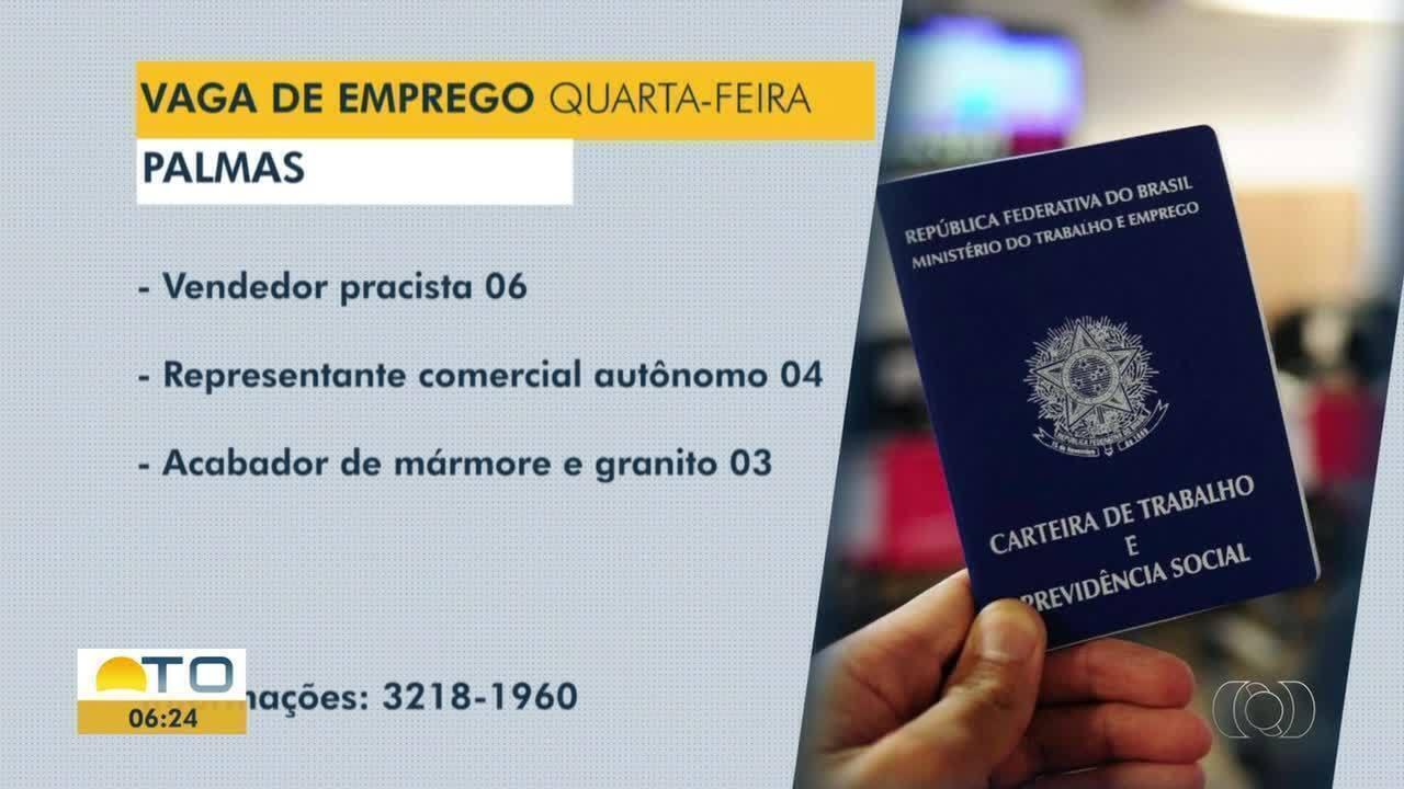 Confira as vagas de emprego disponíveis para Palmas, Porto Nacional e Gurupi