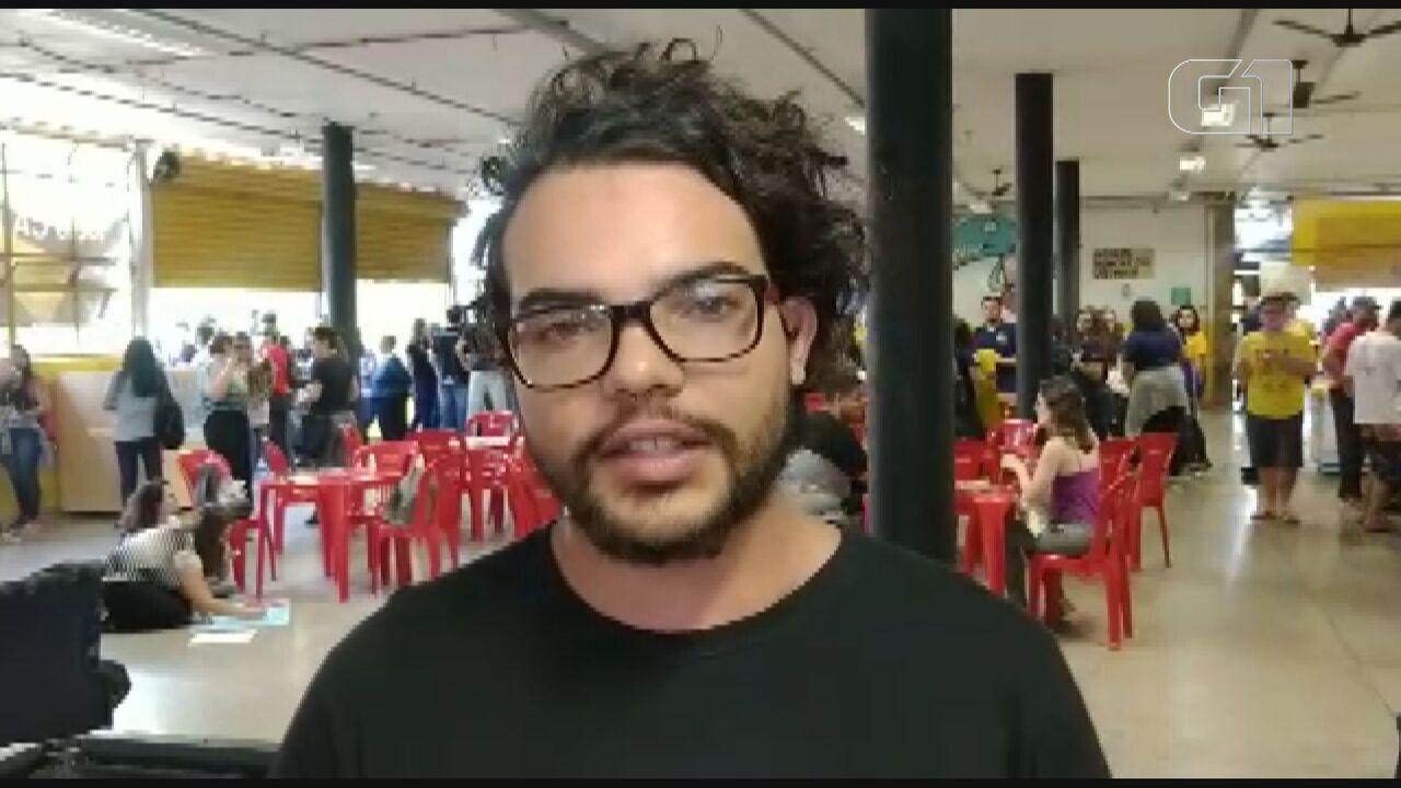 Estudante da USP de São Carlos fala sobre ato contra bloqueios de verbas na educação