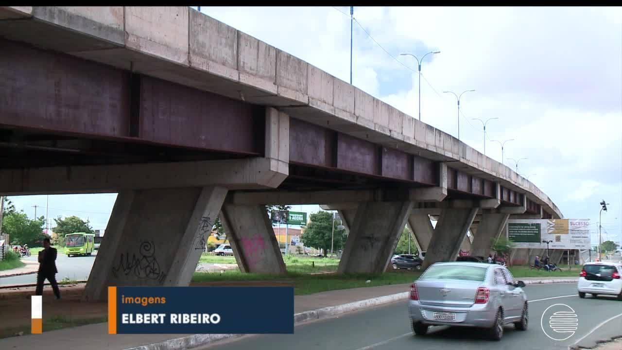 Técnicos do DER e CREA-PI fiscalizam viaduto da Miguel Rosa