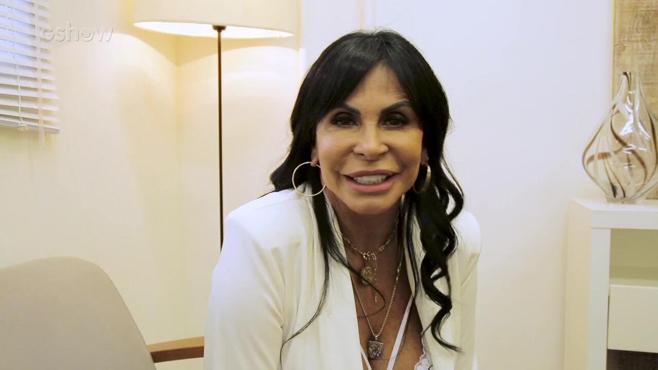 'Eu tenho medo é de ficar feia', diz Gretchen nos bastidores do Mais Você