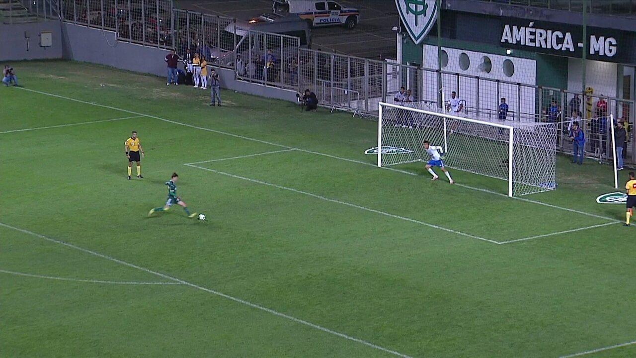 Gomes defende pênalti em decisão contra o Cruzeiro e Palmeiras é campeão da Copa do Brasil Sub-20