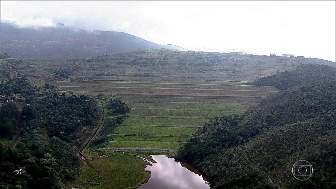 Defesa Civil de Minas se prepara um possível rompimento de barragem