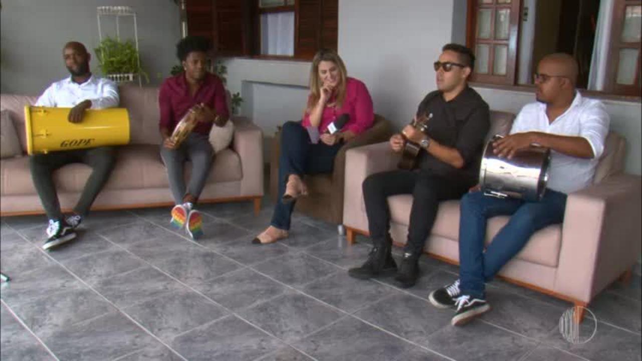 O grupo Pagode do Canta colocou todo mundo para sambar
