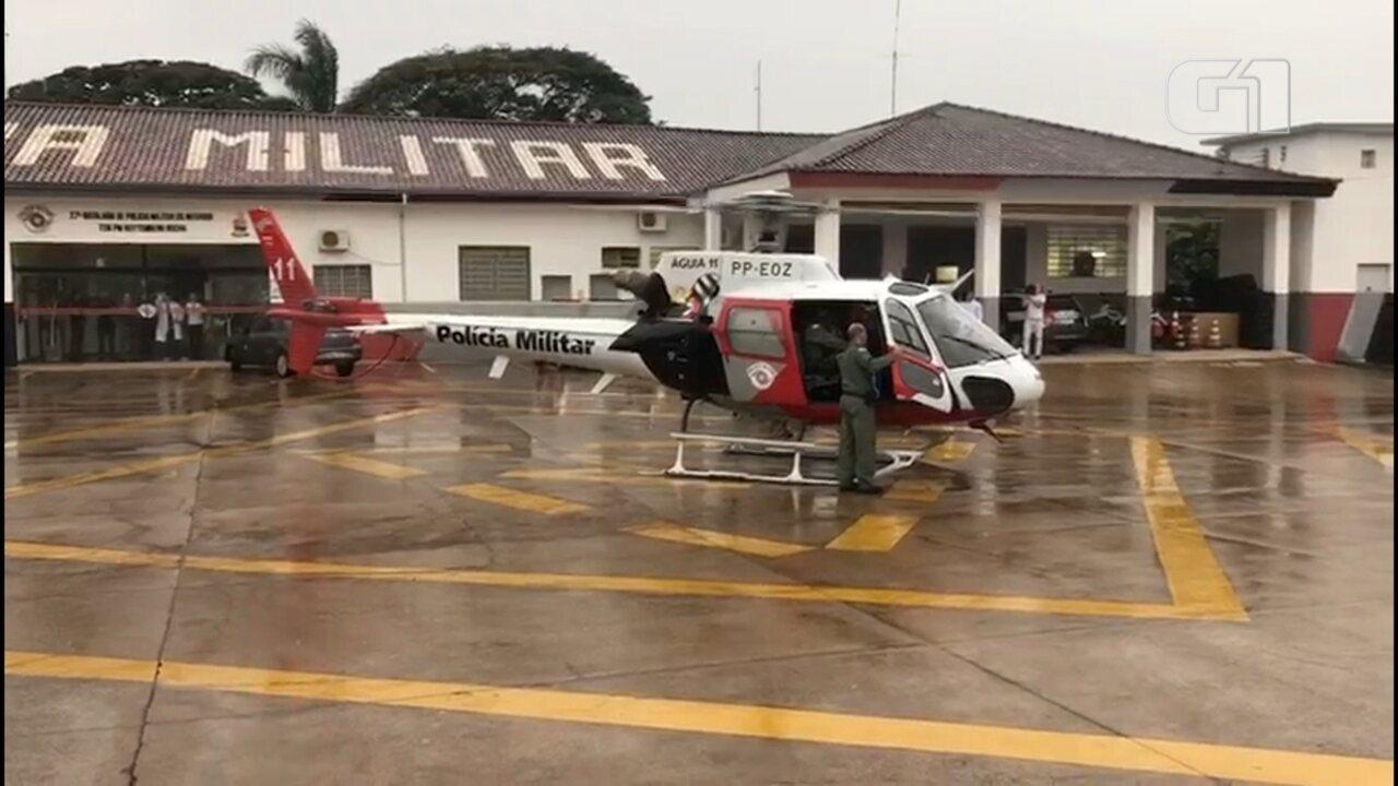 Transplante de coração em hospital do interior de SP mobiliza helicóptero Águia da PM