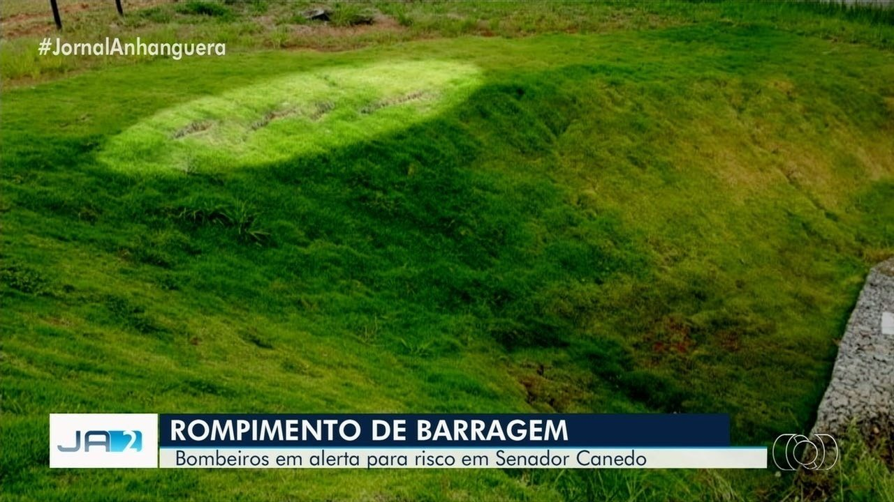 Chuva faz Corpo de Bombeiros aumentar alerta em barragem em Caldazinha
