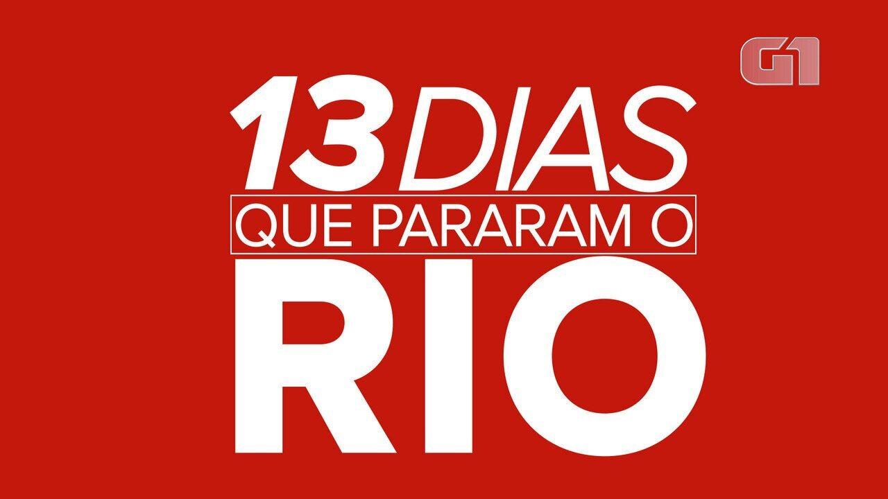 Rio de Janeiro: 13 dias de estágio de crise