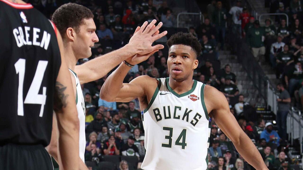 Melhores momentos: Toronto Raptors 103 x 125 Milwaukee Bucks pela NBA