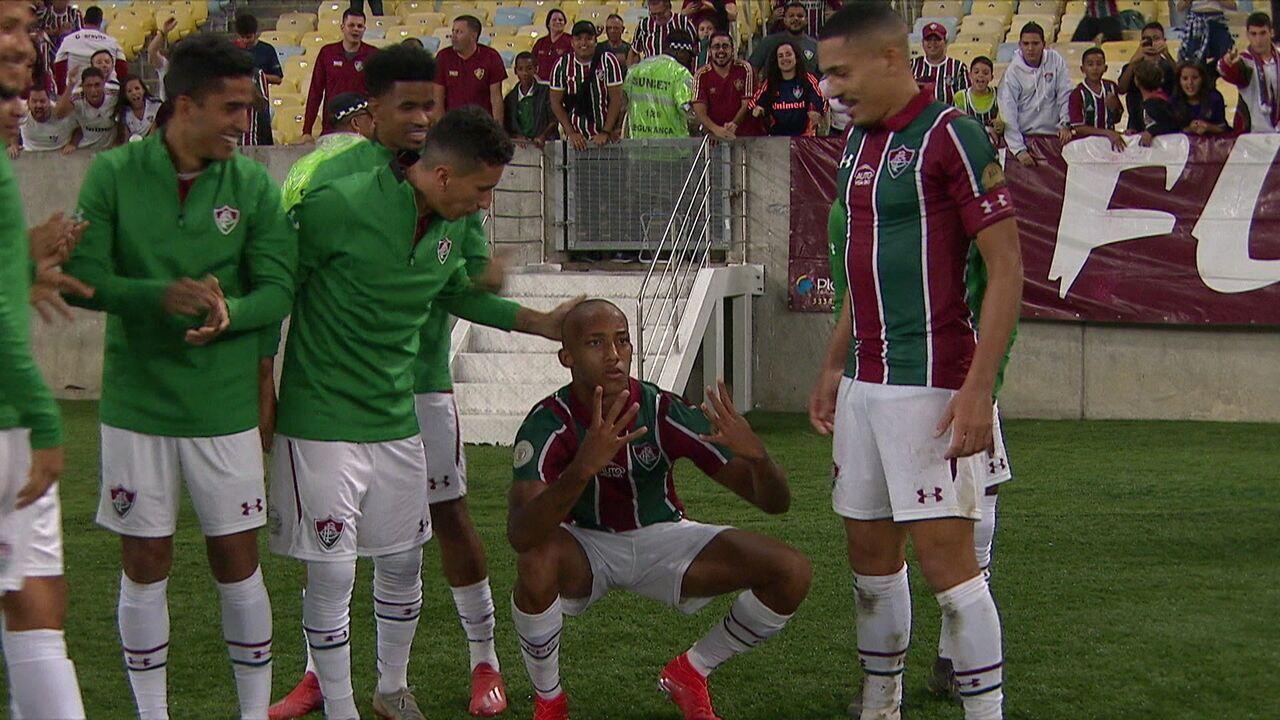 Os gols de Fluminense 4 x 1 Cruzeiro pela 5ª rodada do Brasileirão