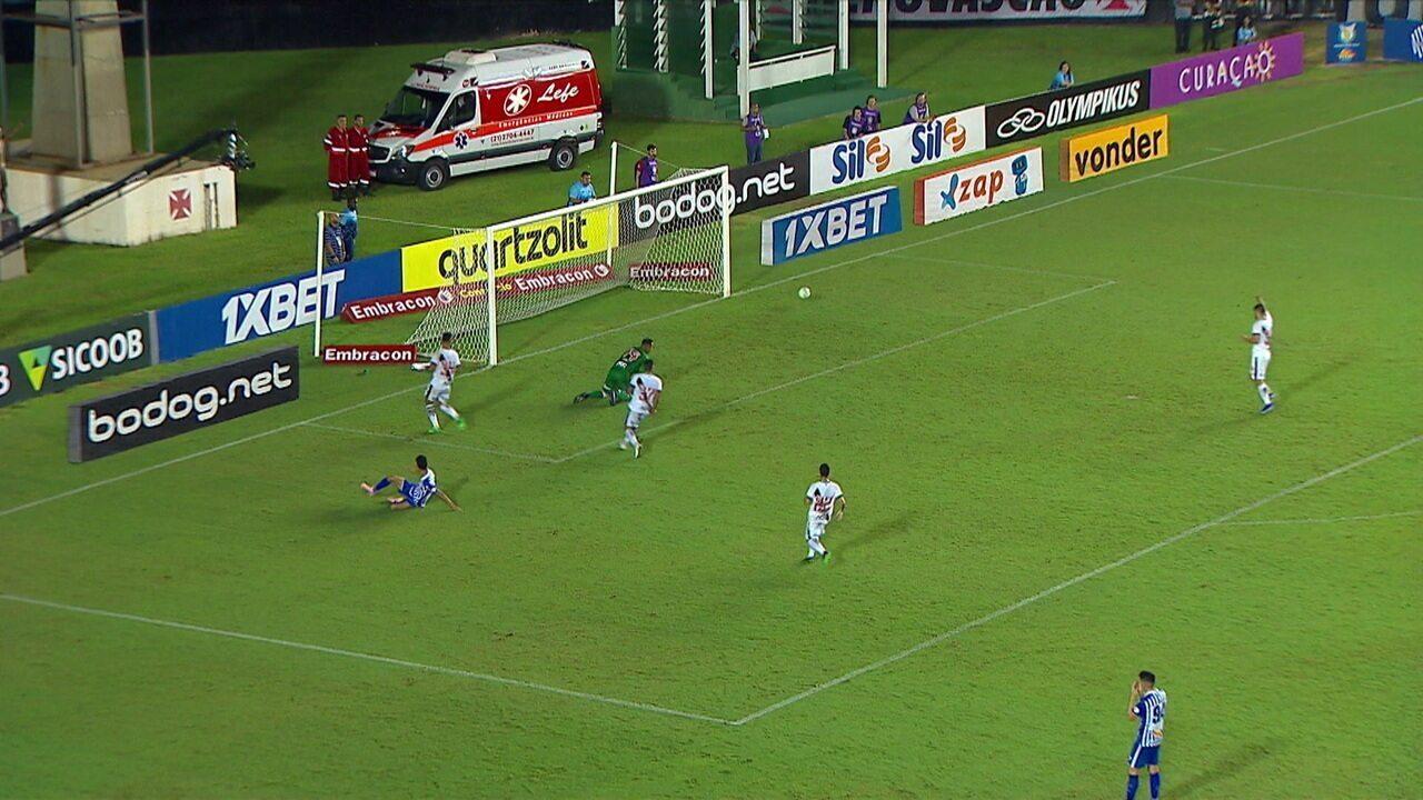 Melhores momentos: Vasco 1 x 1 Avaí pela 5ª rodada do Brasileirão 2019