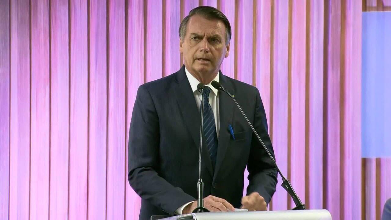 Jair Bolsonaro diz que não há briga entre os poderes