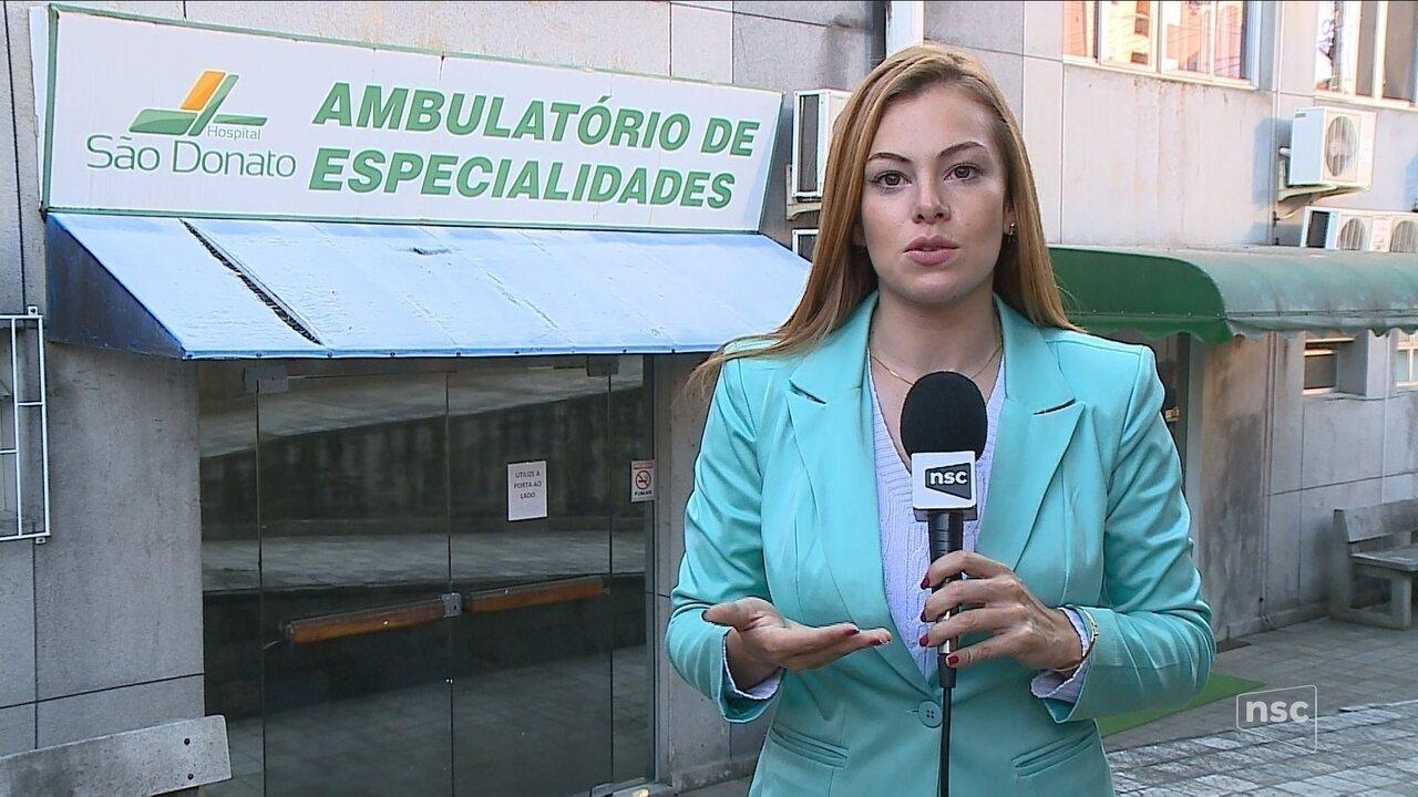 Hospital de Içara suspende atendimentos de ortopedia por falta de repasses