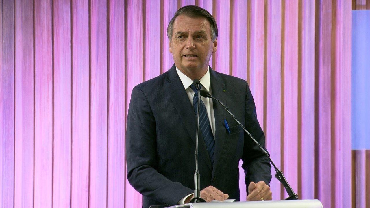 Bolsonaro diz que o grande problema do Brasil é a classe política