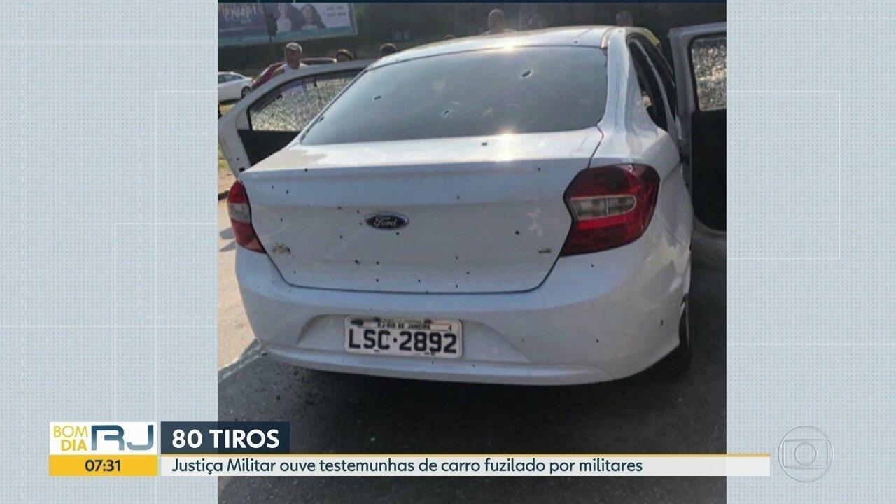 Justiça Militar ouve testemunhas de fuzilamento de carro em Guadalupe