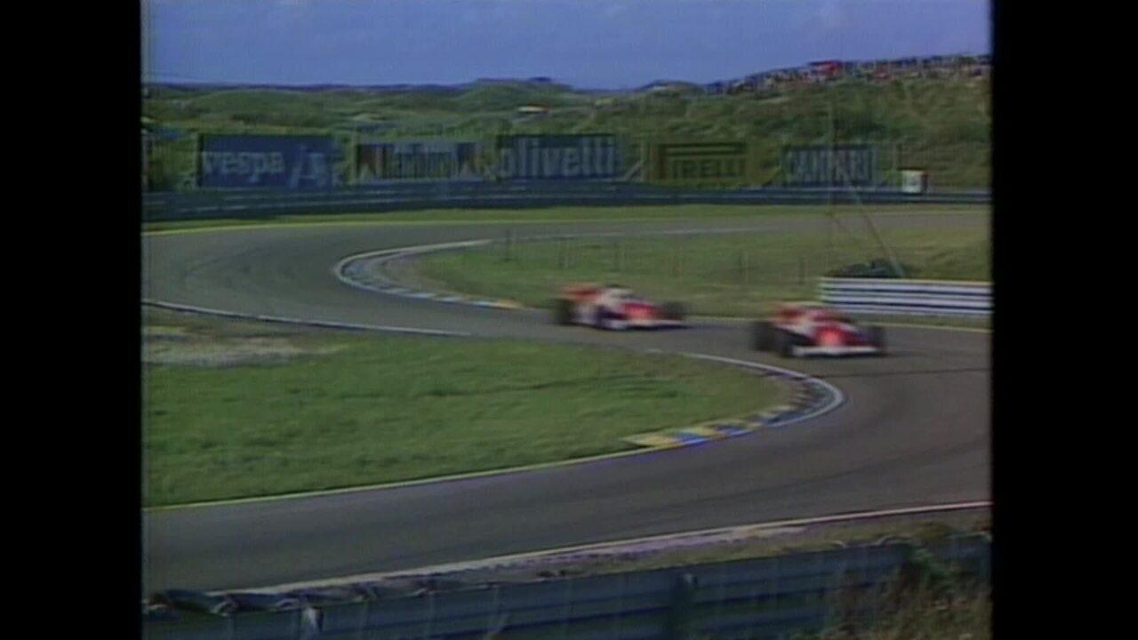 Última vitória de Niki Lauda na Fòrmula 1, na Holanda, em 1985