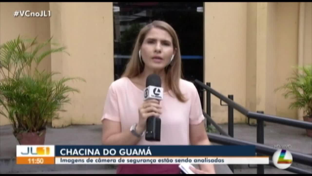 Imagens de câmera de segurança são usasdas nas investigações de chacina no Guamá