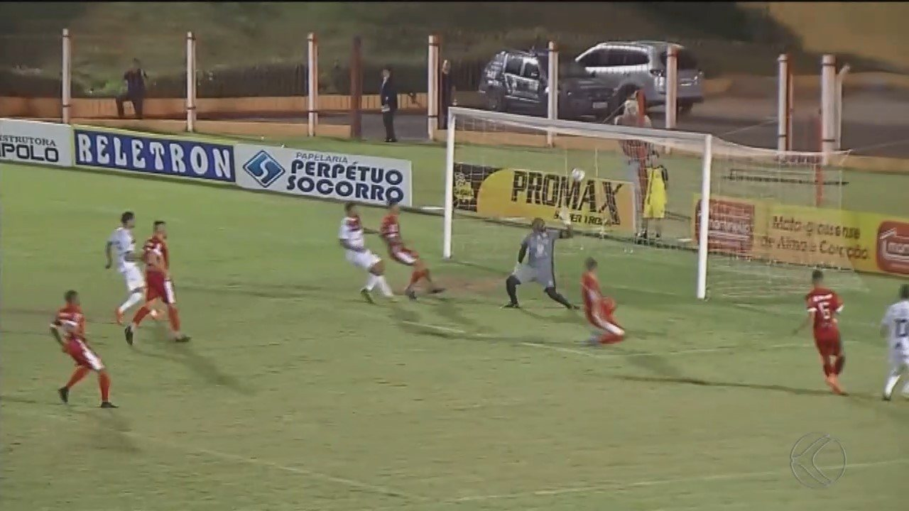 Patrocinense leva gol no fim e perde a primeira na Série D