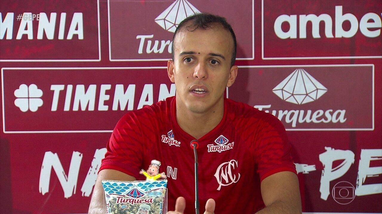Na chegada ao Náutico, Dal Pozzo dá chance a atletas esquecidos, como Matheus Carvalho