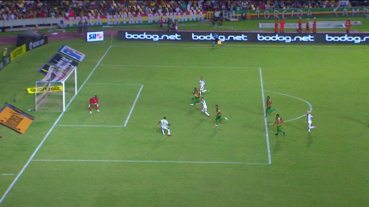Melhores momentos de Sampaio Corrêa 0 x 1 Palmeiras pelas oitavas da Copa do Brasil