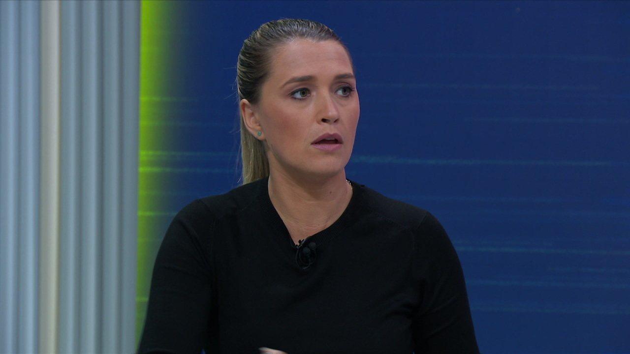 Ana Thais Matos fala sobre o posicionamento do Pato dentro de campo