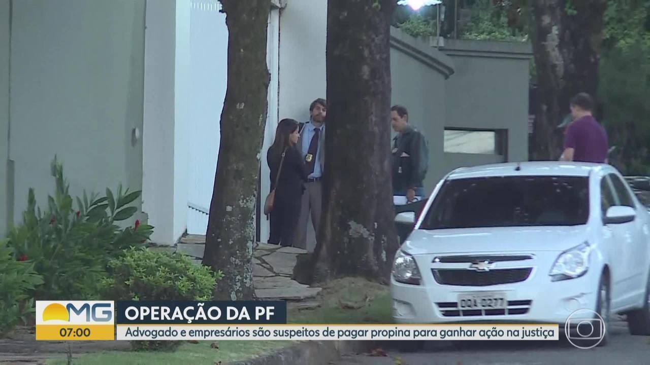 Polícia Federal faz operação em Belo Horizonte e tem como alvo ex-juiz do TRE-MG