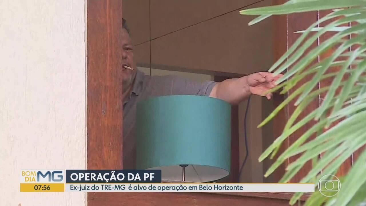 Ex-juiz do TRE-MG é alvo de operação da PF em Belo Horizonte