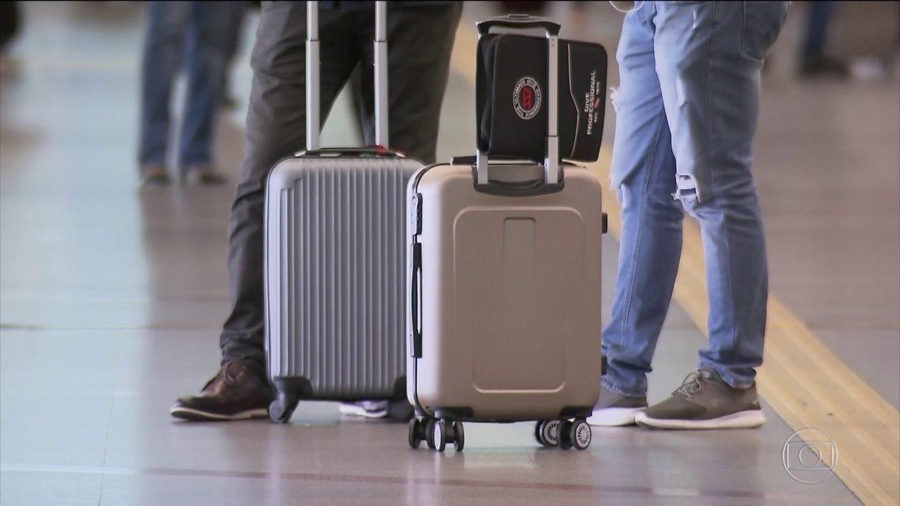 Senado aprova 100% de capital estrangeiro nas aéreas e isenta cobrança de bagagem