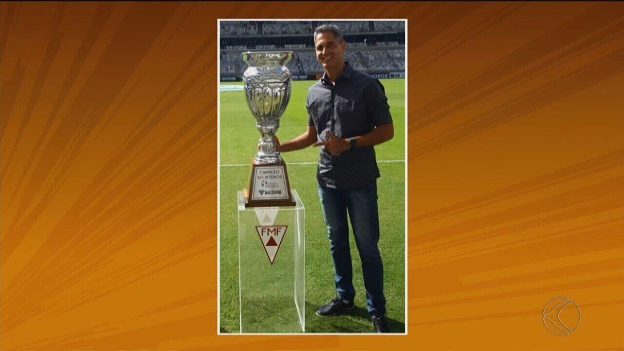 """""""TBT do GE"""" lembra passagem do técnico Rodrigo Santana por URT e Uberaba"""