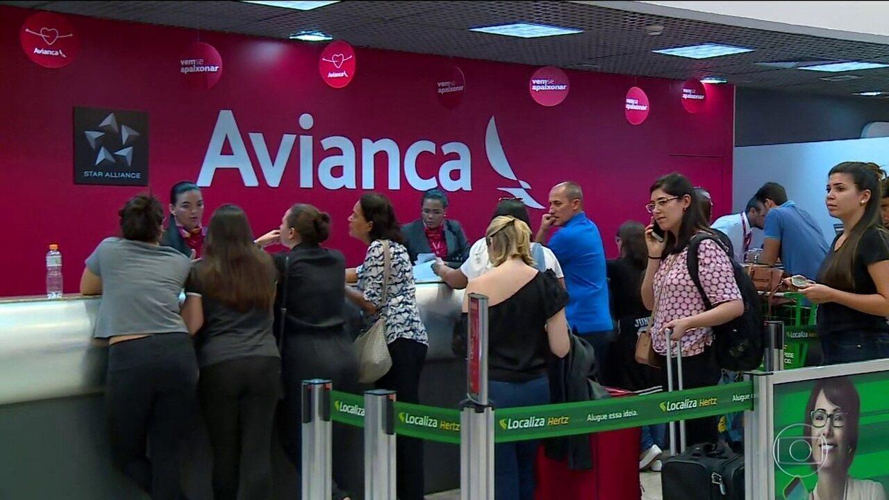 Anac suspende voos da Avianca até empresa comprovar segurança