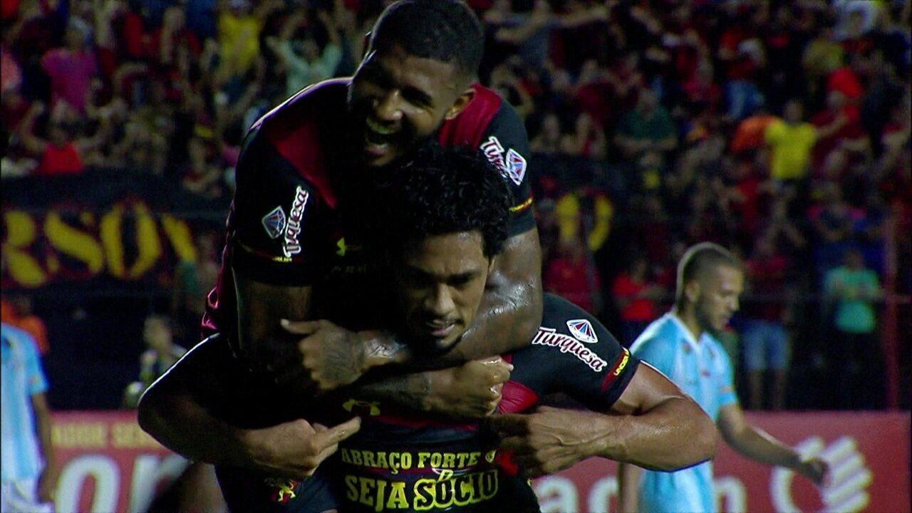 Contra o Londrina, ele abriu o caminho da vitória com o primeiro gol